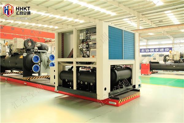 大型商场模块式风冷热泵--汇合空调设备新闻