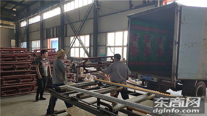 云南昆明宇生彩钢购买的复合板自紧轴芯已发货