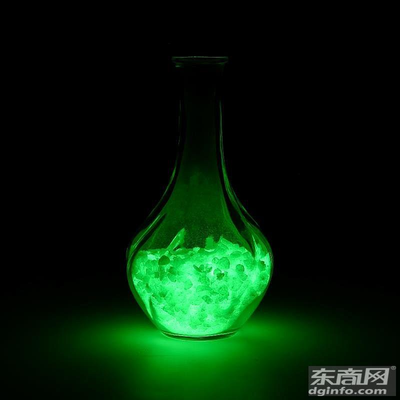 夜明蓄光  發光顏料生產廠家 定制夜光粉  注塑絲用通用亮亮熒光顏料