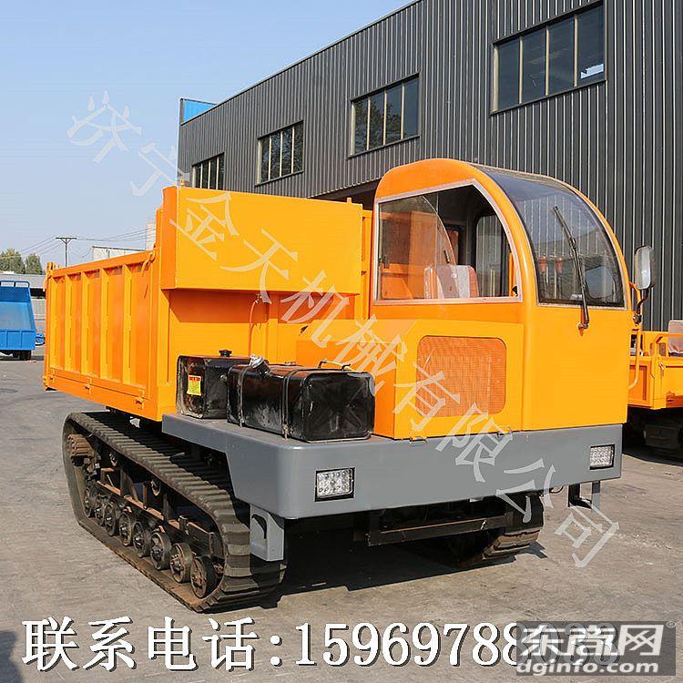 海宁多功能履带运输车 8吨水利工程拉土方履带车多少钱图片