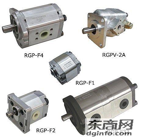 RGP-F319R-19-C-L43臺灣REXPOWER銳力齒輪泵