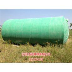 兴安盟玻璃钢预制化粪池维修模压化粪池厂家