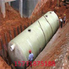 安庆玻璃钢一体式化粪池图集模压化粪池生产厂家——河北泊尧