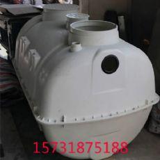 沧州玻璃钢预制化粪池价格成品玻璃钢化粪池1吨——河北泊尧