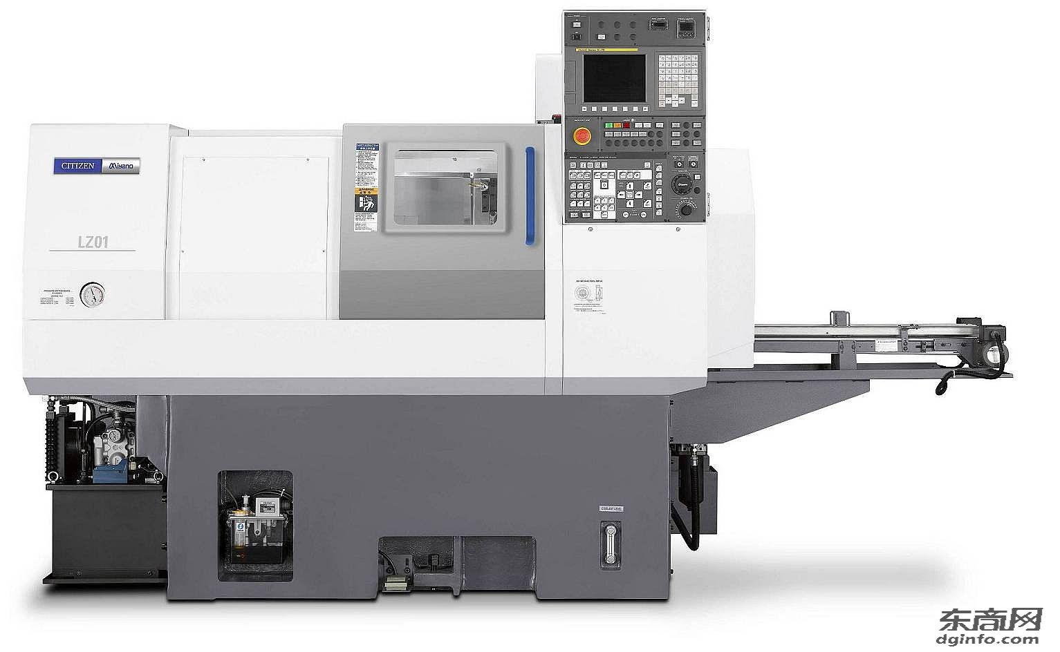日本西鐵城LZ01自動裝載高精度卡盤刀塔機