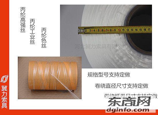 圆形柔性吊装带区别线的样式