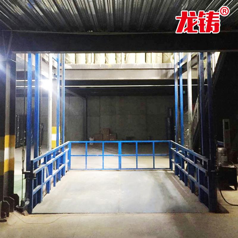 遼寧省阜新市導軌液壓式升降機哪里買室外貨梯