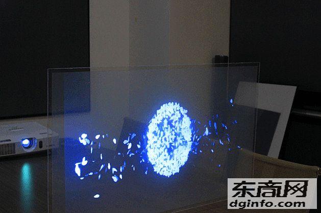 全息玻璃 全息影像玻璃 幻成像玻璃 投影玻璃 3d幻像