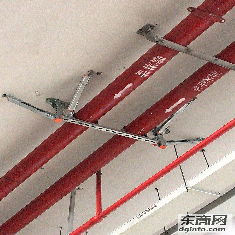 厂家供给抗震支架修建 减震 正向侧向
