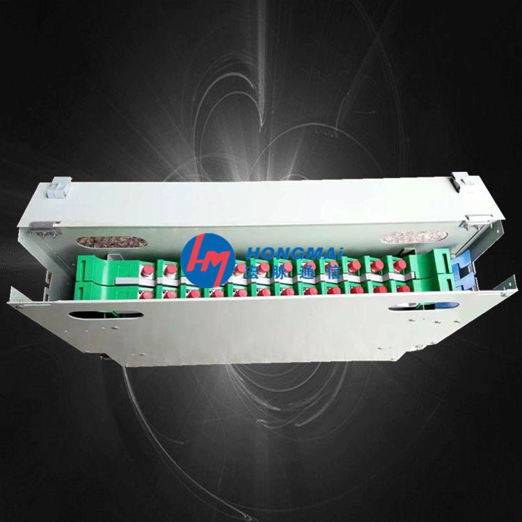 牡丹江24芯ODF箱(光纤配线架)图文