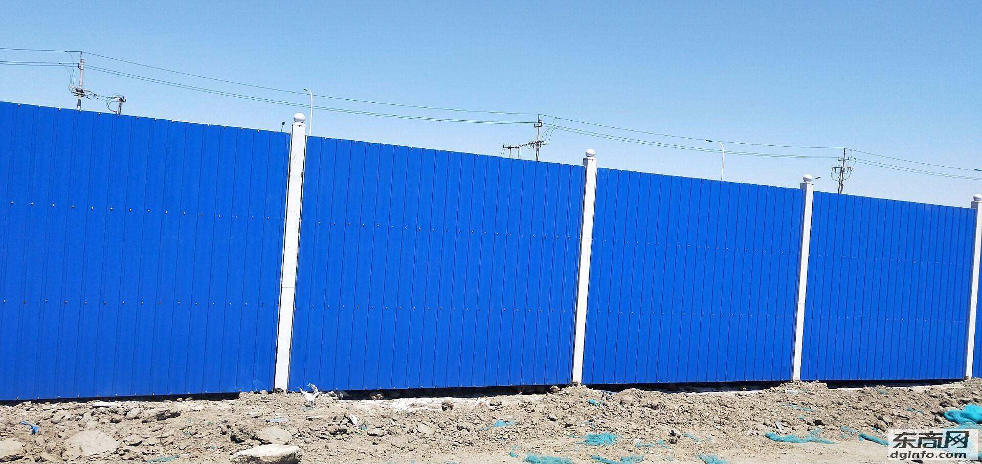 天津东丽区建筑施工围挡板直销-庆岭彩钢制品