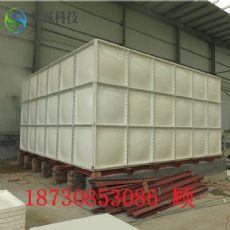 唐山玻璃鋼水箱制作安裝 1800平方米做多大的消防水箱 