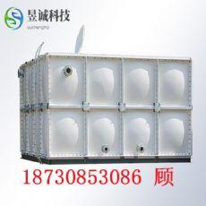 鶴壁玻璃鋼水罐水箱 18噸消防水箱尺寸|