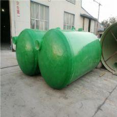 安阳三格局玻璃钢化粪池尺寸smc模压化粪池厂家