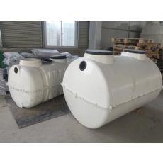 鸡西立式玻璃钢化粪池尺寸1.5立方化粪池若干钱