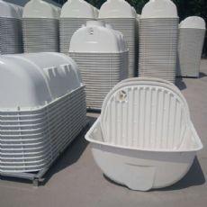 商洛玻璃钢全体化化粪池厂家直销100立方化粪池若干钱
