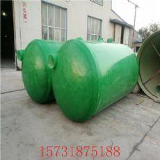 银川环保玻璃钢化粪池现货供应100立方化粪池多少钱
