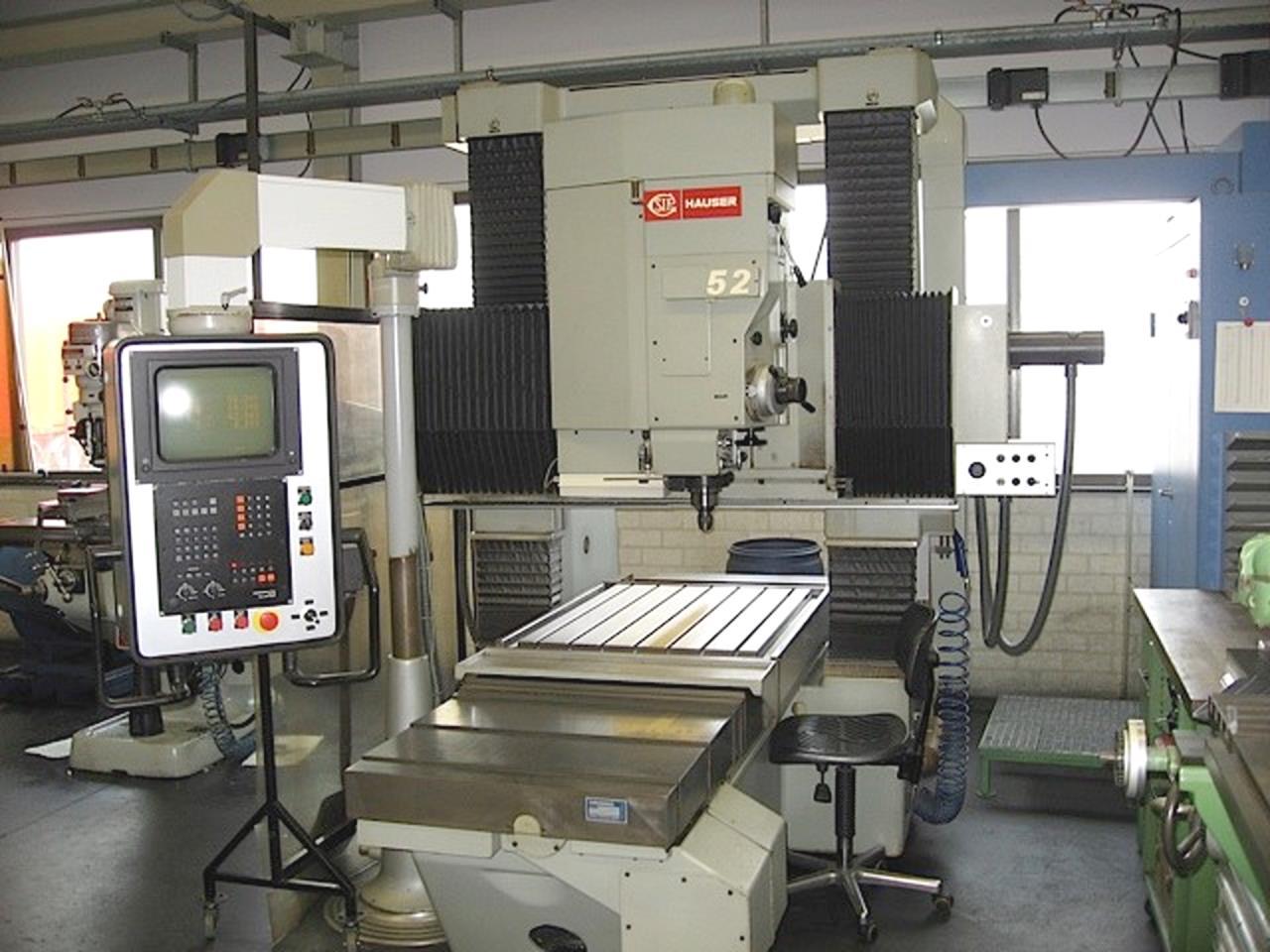 SIP/HAUSER MP 52数控钻模机坐标镗床二手的从瑞士到国内的手续