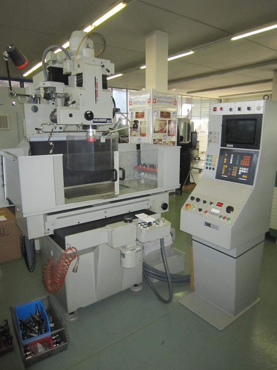 豪泽HAUSER B 3 CNC 314二手坐标磨床进口长安的流程