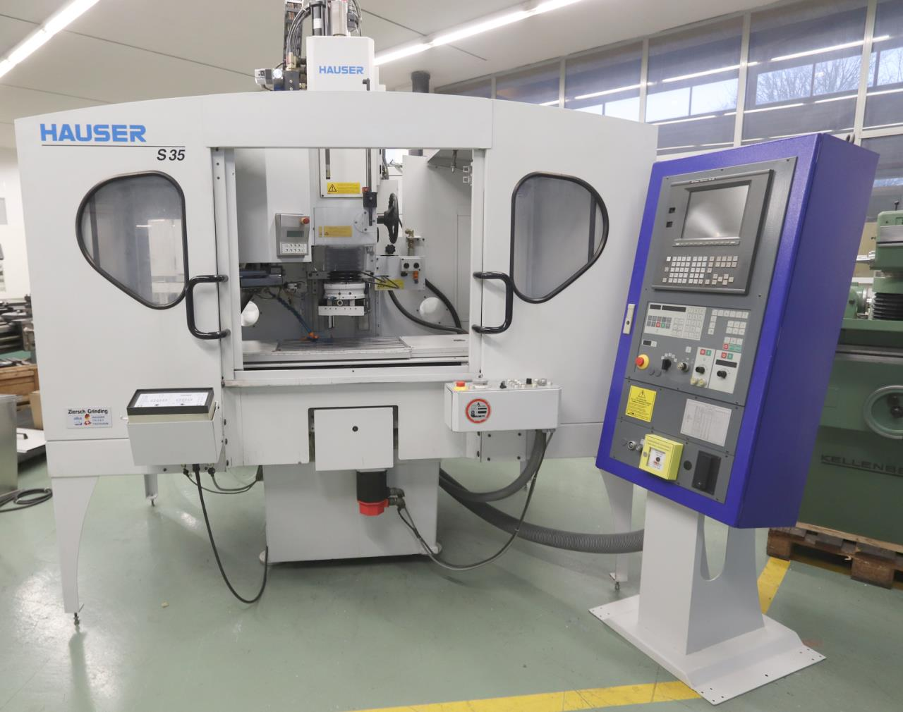 HAUSER S 35-400数控坐标磨床二手的进口回深圳的代理