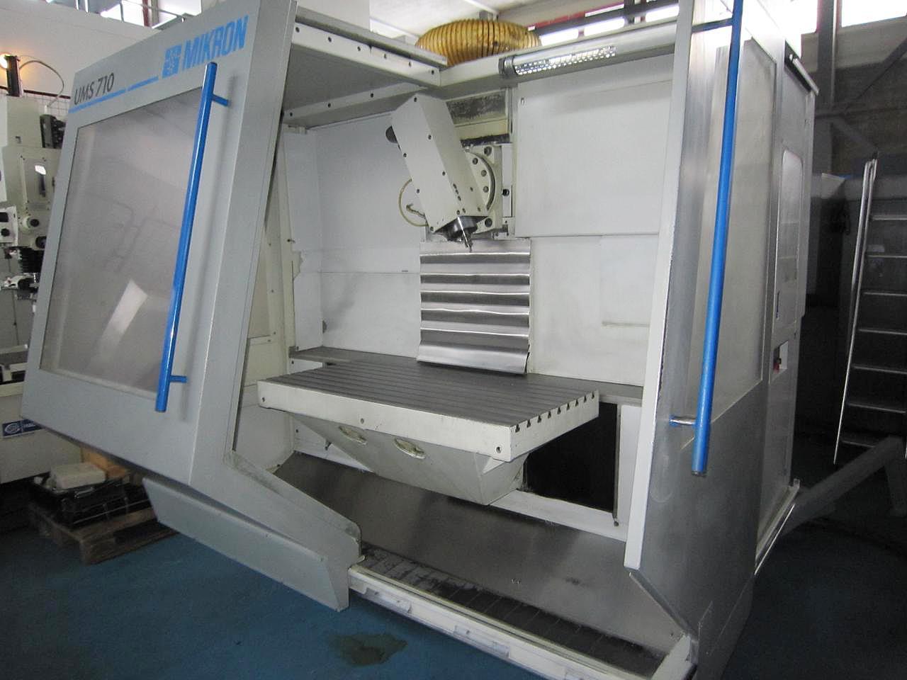 MIKRON UMS 710二手数控铣床进口代理手续哪儿办