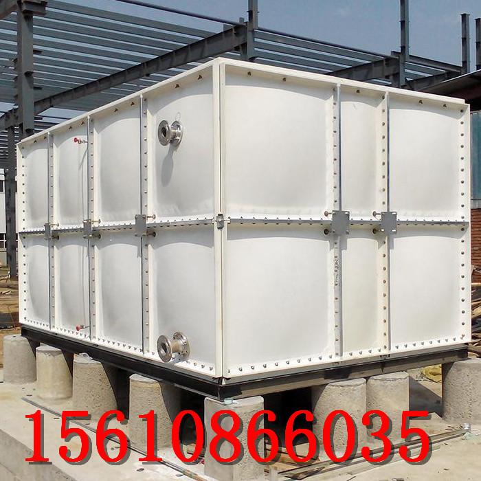 玻璃鋼儲水箱小型家用儲水箱安裝圖|