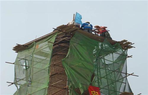 新聞:壽光磚煙囪拆除公司-價低質高