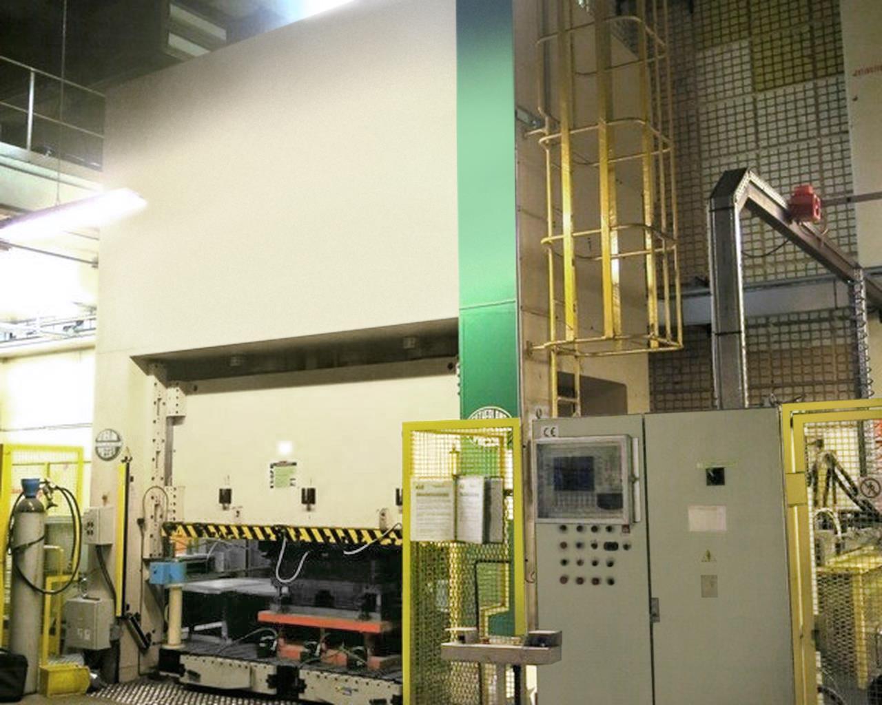 SUTHERLAND SD 3.600二手液压机冲床进口温州手续