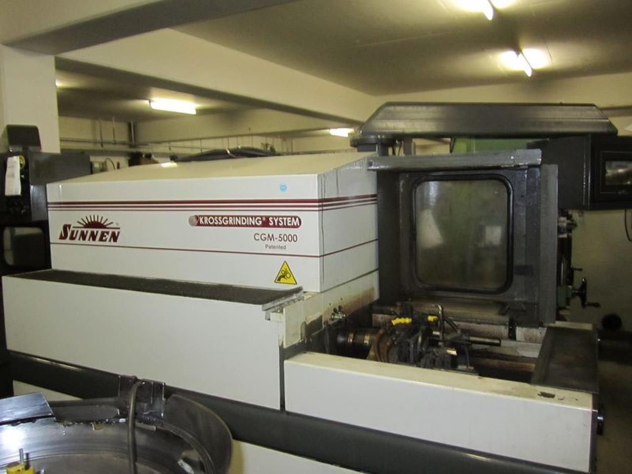 SUNNEN CGM 5000 CG二手珩磨机进口台州关税