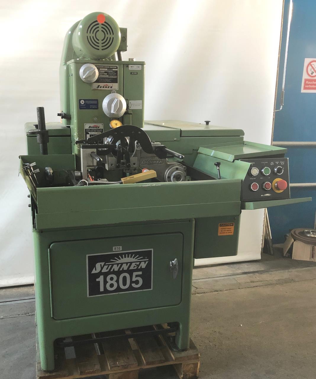 SUNNEN MBC-1805二手珩磨机进口洛阳的关税