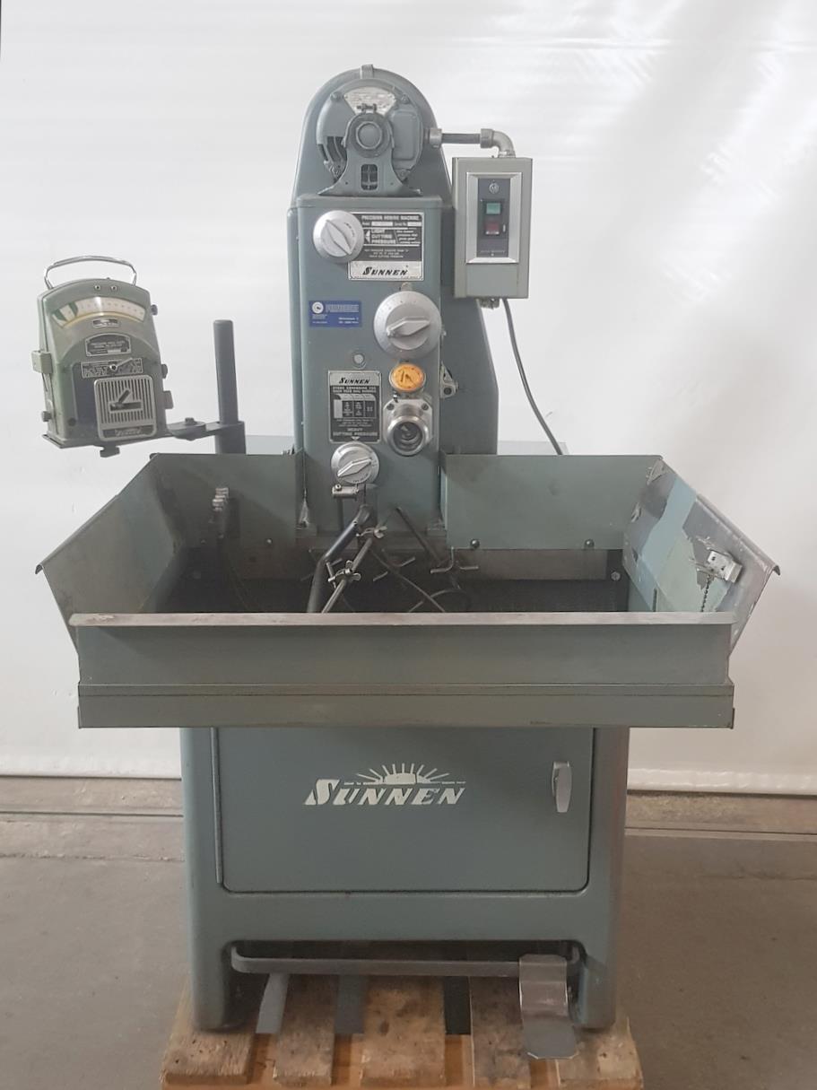 型号:SUNNEN MBC-1800二手珩磨机进口包头的流程