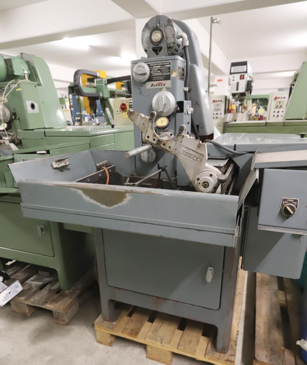 型号:SUNNEN MBB-1690 H珩磨机二手的瑞士进口中国的手续