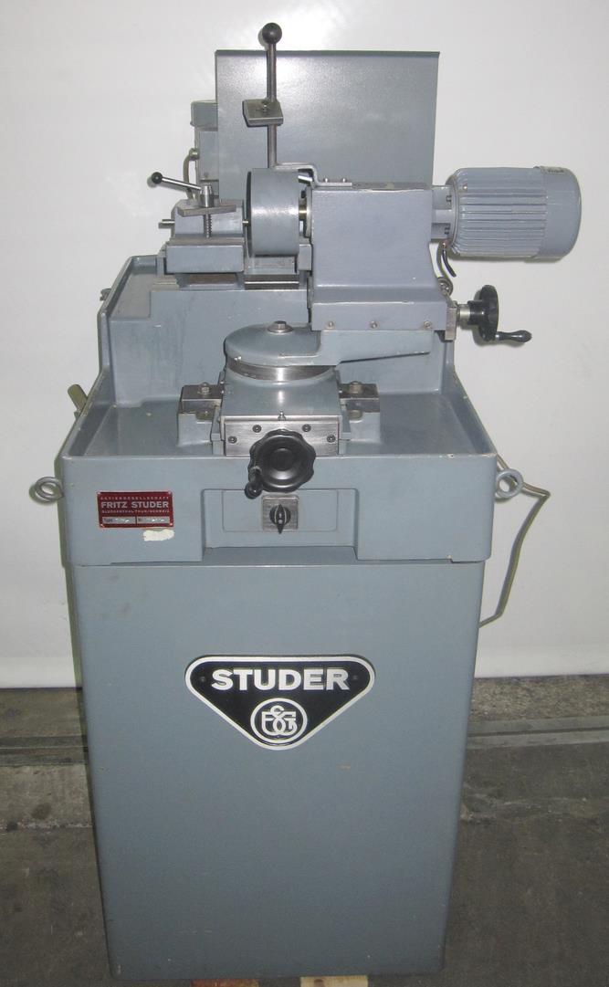 STUDER DSA二手车轮仿形修整机进口东莞流程手续