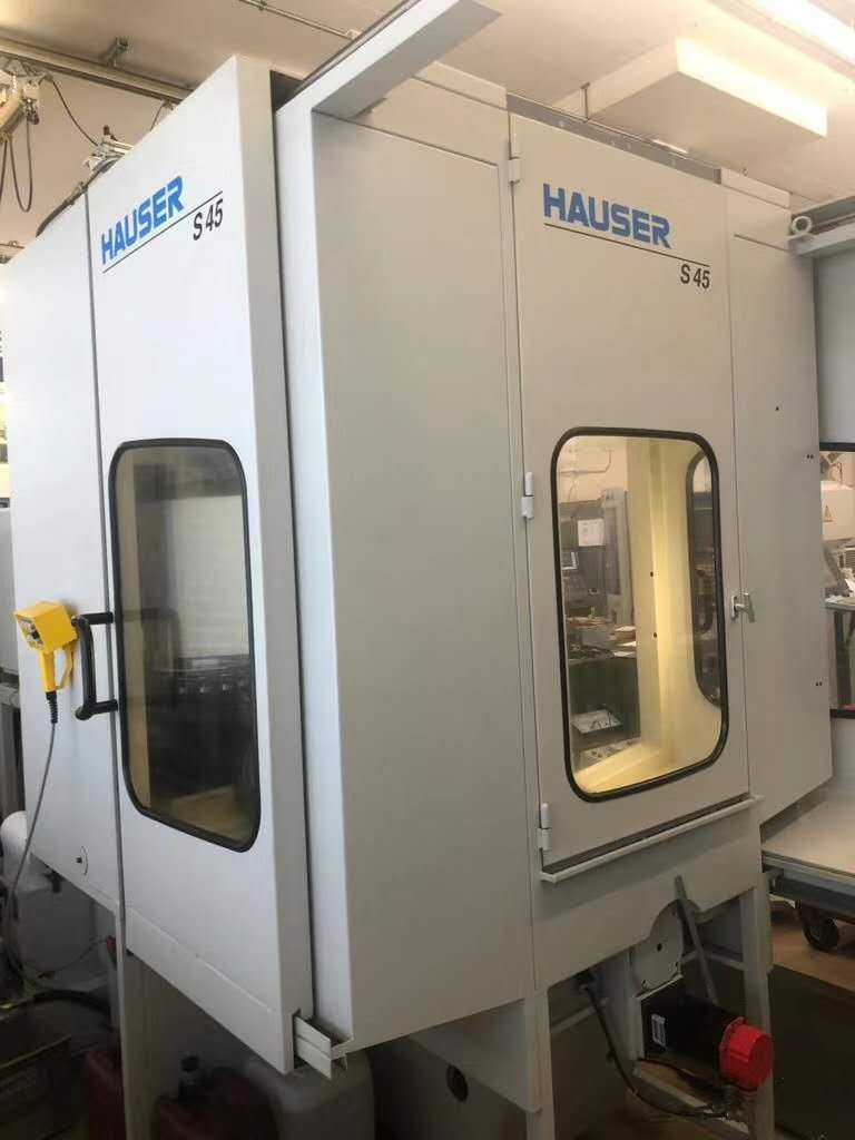 HAUSER S45-400 CNC二手数控坐标磨床进口关税早知道