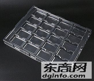 深圳吸塑包裝廠定制五金吸塑盒,電子電感線圈吸塑托盤