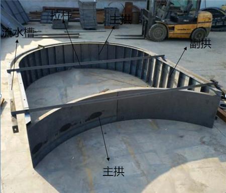 现浇混凝土拱形骨架框模具-耐暴晒—耐寒冬