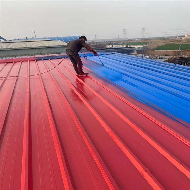 盛雄生产彩钢除锈钢结构屋面防腐漆料