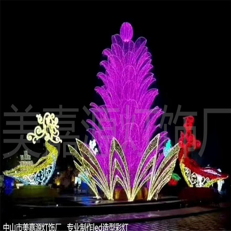led閃閃發光造型燈,3D  立體造型燈  景區園林裝飾燈,燈光節 新品圖案燈