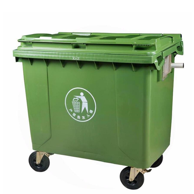 武漢漢陽塑料垃圾車-手推塑料垃圾車批發價格表