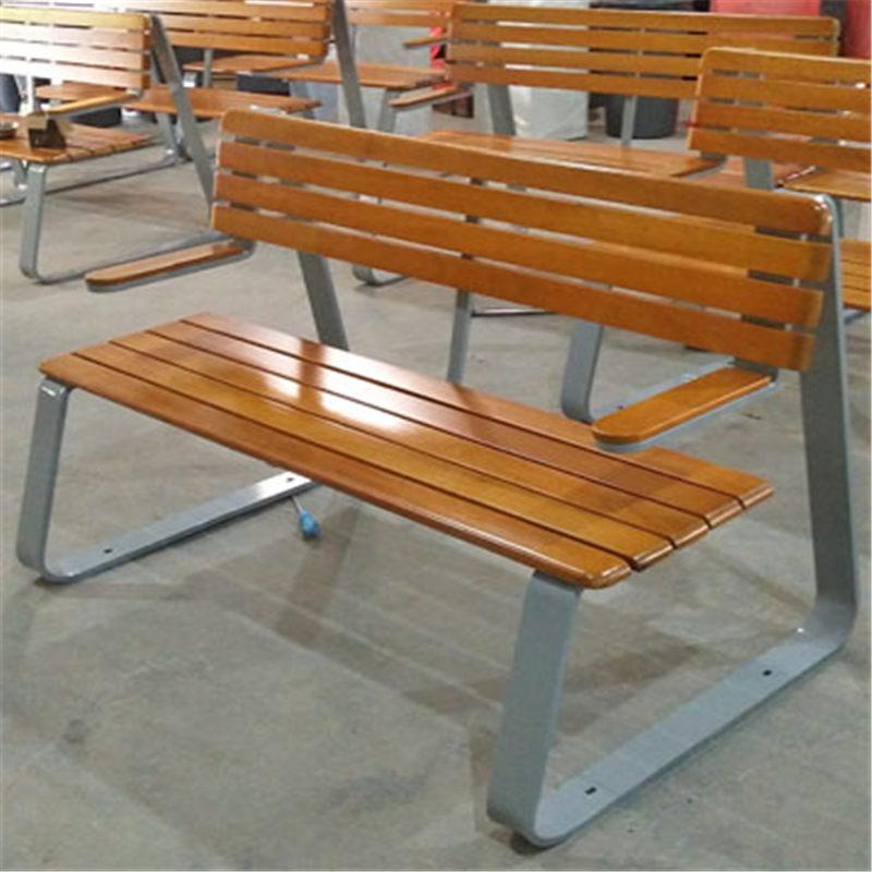 武漢硚口公園椅安裝-公園條椅-學校公園椅-校園休息椅廠家供應