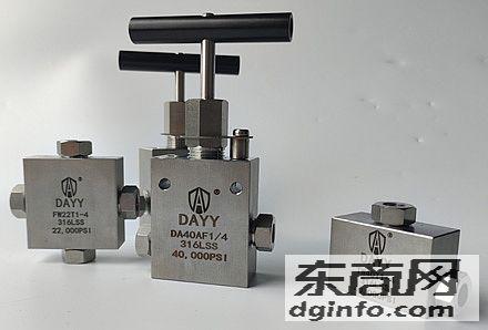 上海丹埃手動針閥,直通截止針閥,手動超高壓針閥DA40AF1/4