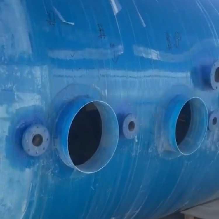 供應清遠玻璃鋼容器儲罐 2.0立方玻璃鋼凈化槽