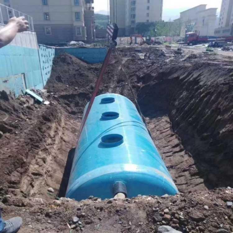 玻璃鋼化糞池 定制地埋式污水處理設備 模壓化糞池