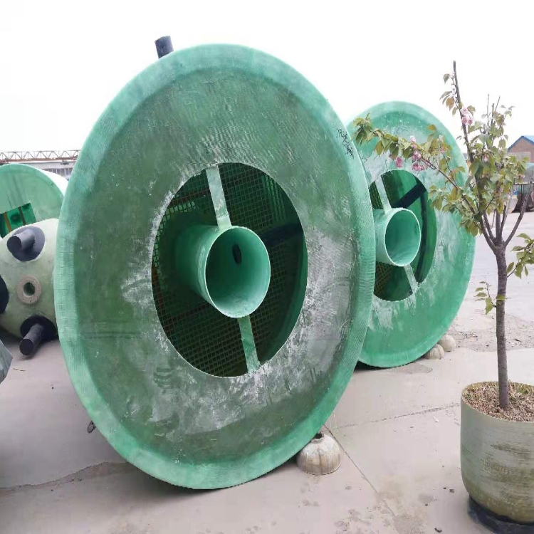 供應寧德玻璃鋼化糞池8立方 地埋污水處理罐廠家