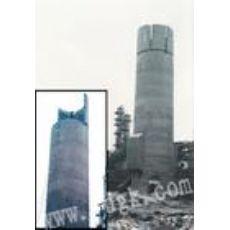 广州烟囱拆除公司(拆除砖烟囱)