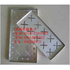 供应COB邦定周转铝盘/邦定铝盘/邦定铝盒/烘烤铝盘250X160X14mm
