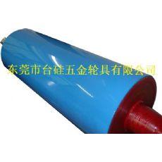透明膜用镜面胶辊-东莞市台硅胶辊厂