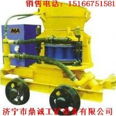 技术先进的矿用喷浆机轨轮喷浆机图片混泥土喷射机厂家