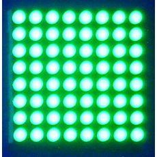 供应3.0红纯绿双色点阵模块