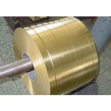 H62软态黄铜带C2800半硬黄铜带 可以分条纵剪加工
